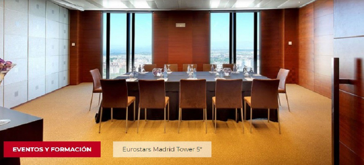 Eurostars-Madrid-Tower